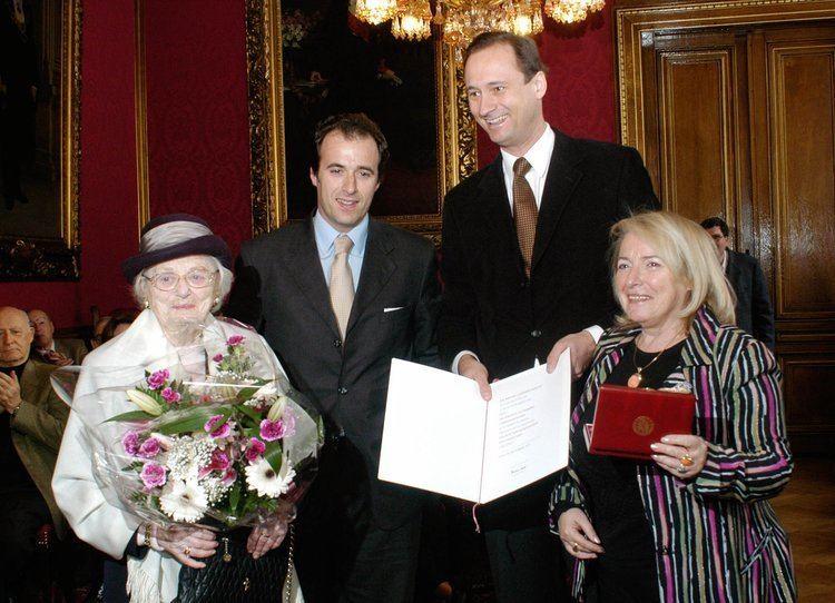 Joanna Nittenberg Archivmeldung Goldenes Verdienstzeichen fr Joanna Nittenberg