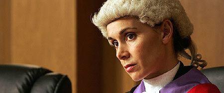 Joanna Roth BBC Drama New Street Law Joanna Roth as Judge Rene
