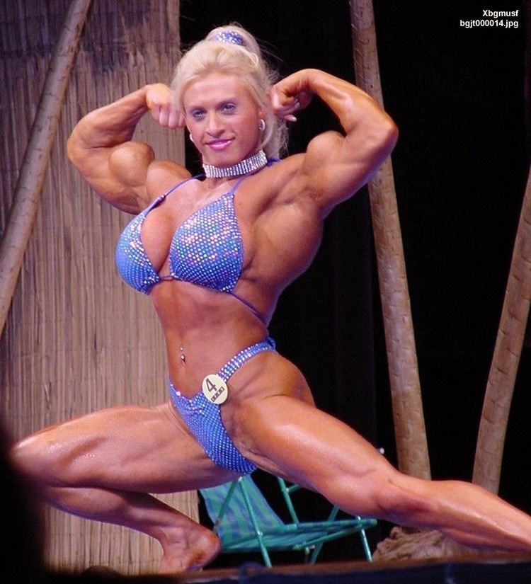 thomas joanna Female bodybuilder