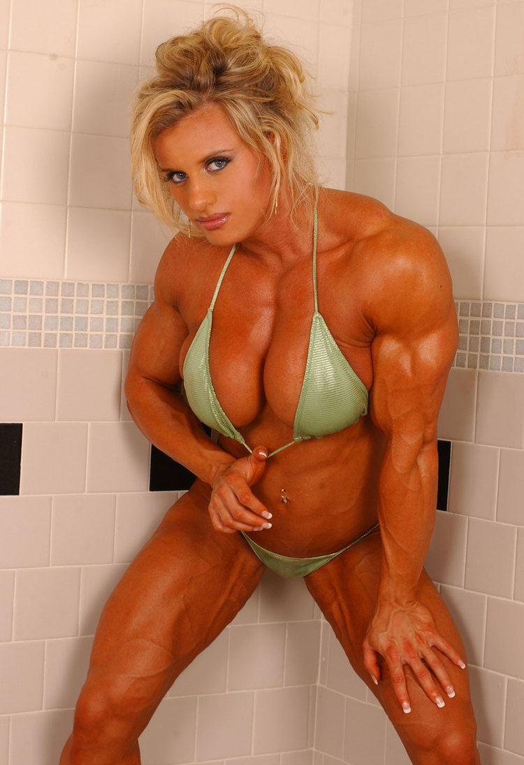 Joanna Thomas Joanna Thomas MUSCLE GODDESSES Thank God For Steroids