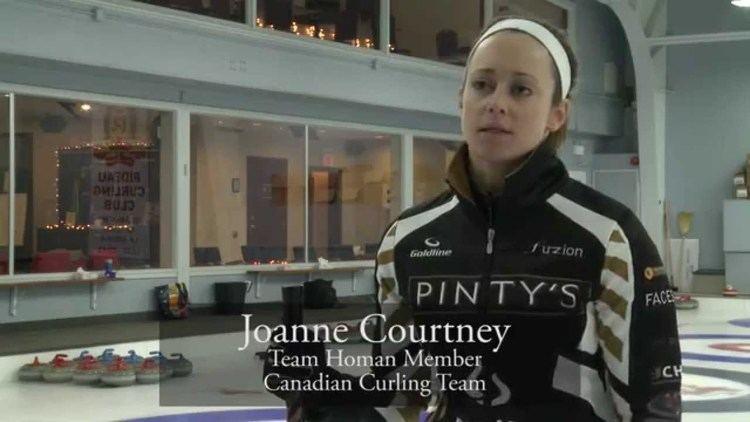 Joanne Courtney Joanne Courtney Team Homan Member Canadian Curling Team