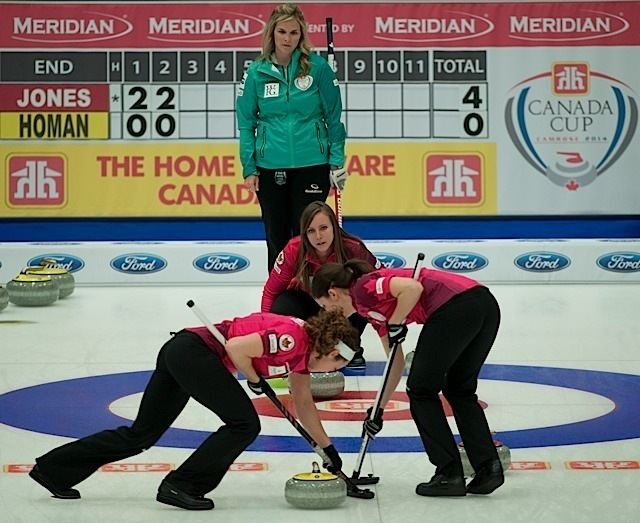 Joanne Courtney 2014 Home Hardware Canada Cup of Curling Camrose Rachel