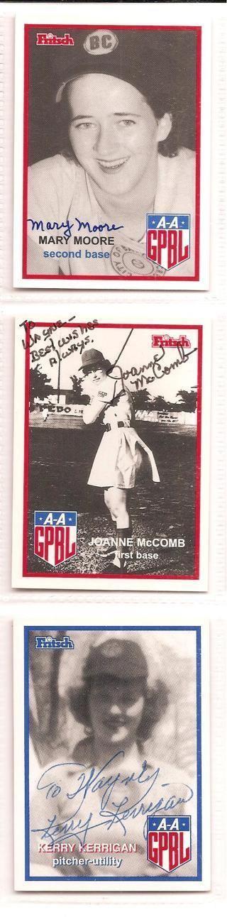 Joanne McComb Free Mary Moore Joanne McComb Kerry Kerrigan AAGPBL Winner Picks