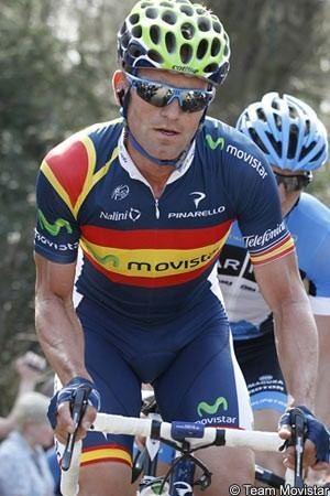 Joaquin Rojas Rojas helping Valverde but sprints well on Tour de France