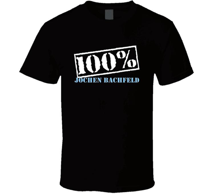 Jochen Bachfeld 100 Percent Jochen Bachfeld Boxer T Shirt