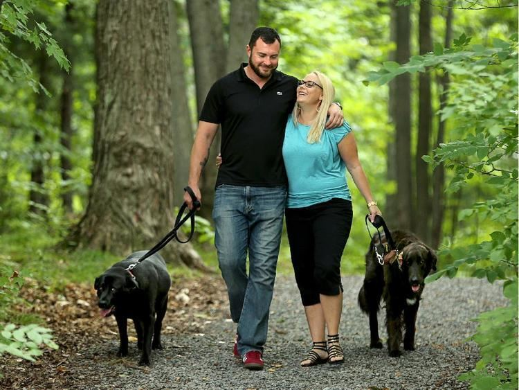 Jody Mitic How a bomb brought Jody Mitic and Alannah Gilmore together