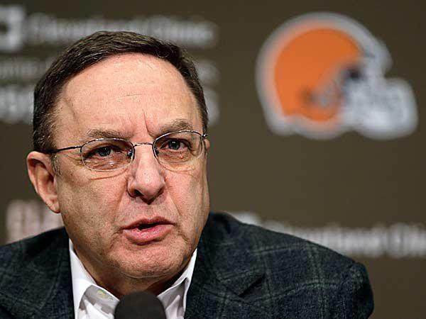 Joe Banner Browns CEO Joe Banner coach Rob Chudzinski respond to