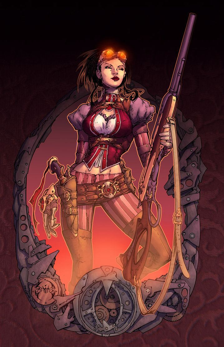 Joe Benitez Lady Mechanika by Joe Benitez by RossACampbell on DeviantArt