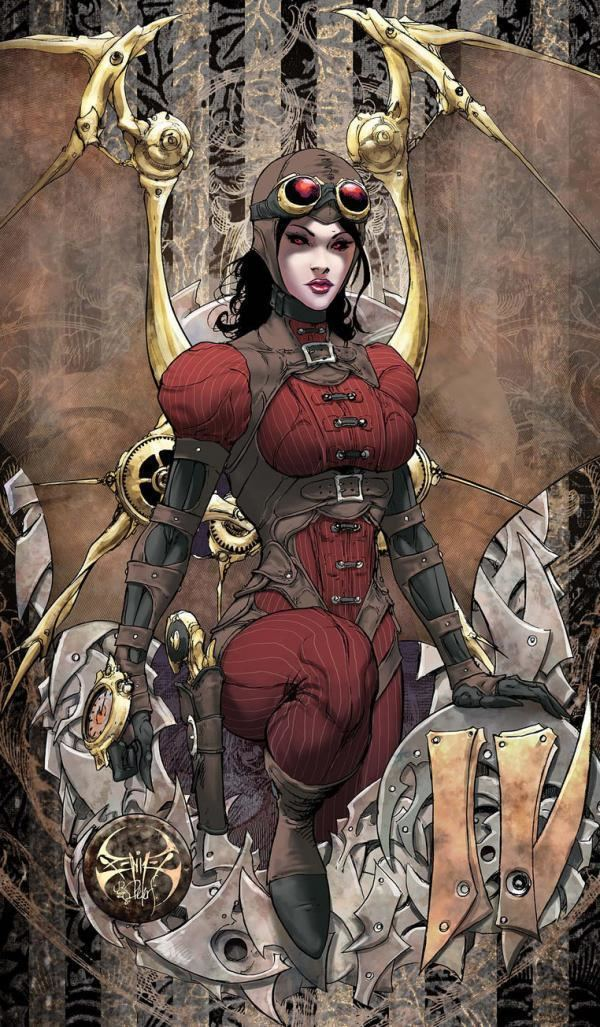 Joe Benitez Lady Mechanika Comic by Joe Benitez Art and Design