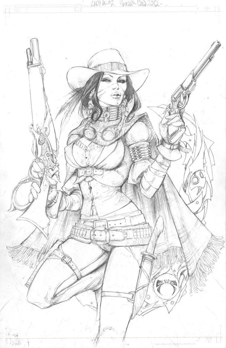 Joe Benitez Lady Mechanika Outlaw Edition by joebenitez on DeviantArt