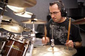 Joe Bergamini Joe Bergamini Modern Drummer Magazine