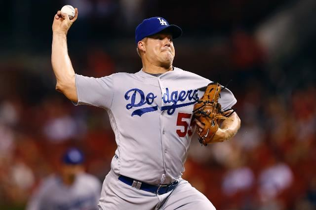 Joe Blanton The Dodgers are still in the postseason thanks in part to the