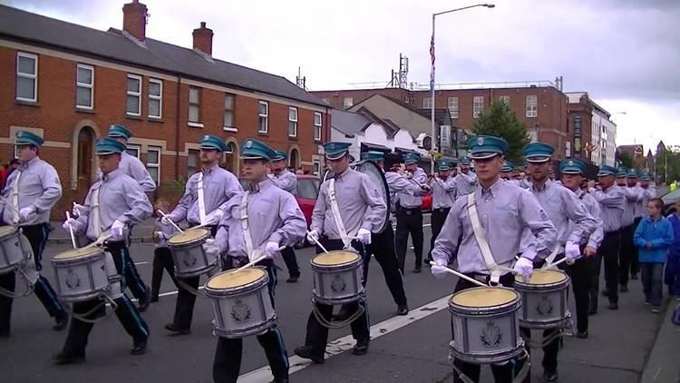 Joe Bratty Pride Of Lagan Valley FB Joe Bratty Raymie Elder Memorial Parade