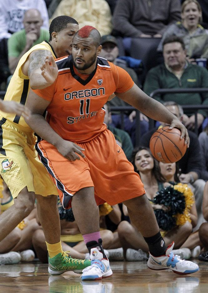 Joe Burton (basketball) Civil War basketball Joe Burton Tony Woods OregonLivecom
