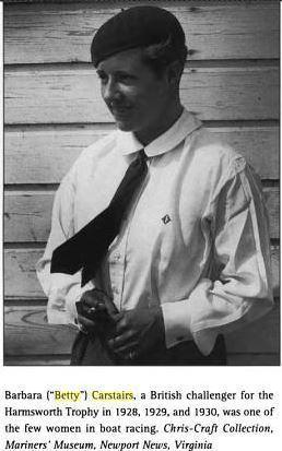 Joe Carstairs A Gender Variance Whos Who Joe Carstairs 1900 1993 Part II