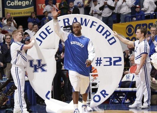 Joe Crawford (basketball) Joe Crawford Has A New Dream Kentucky Sports Radio