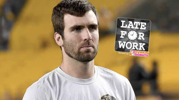 Joe Flacco Late For Work 427 Joe Flacco Speaks Up About Adding WR