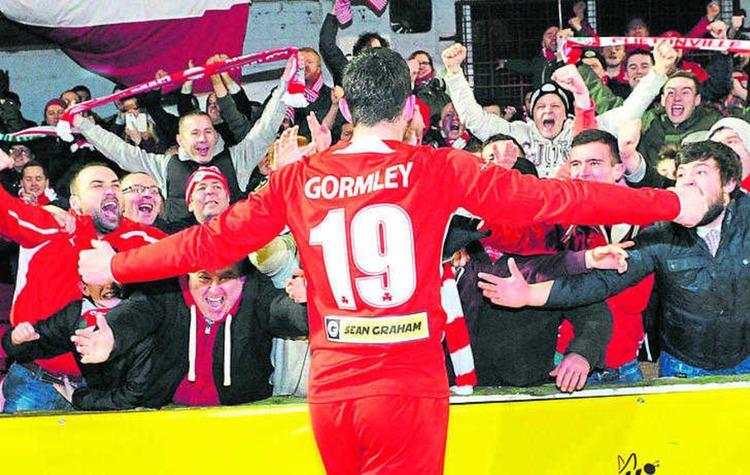 Joe Gormley (footballer) Joe Gormley has a new goal in his sights at Peterborough The Irish