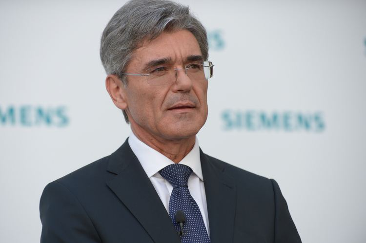 Joe Kaeser Press Conference to announce the appointment of Joe Kaeser
