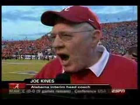 Joe Kines Joe Kine39s Indy Bowl Halftime Interview YouTube