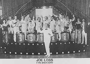 The stripper joe loss his orchestra are right