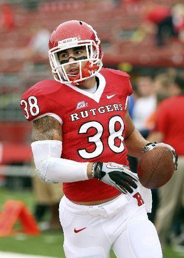 Joe Martinek Rutgers39 Joe Martinek values carrying the ball in new role
