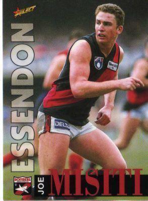 Joe Misiti ESSENDON Joe Misiti 48 SELECT 1996 Australian Rules Football AFL