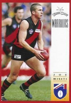 Joe Misiti Australian Football Joe Misiti Player Bio