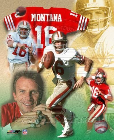 Joe Montana Joe Montana Legends of the Game Composite Photo at