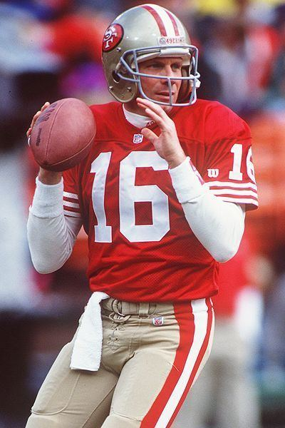 Joe Montana No 22 What If Joe Montana Actually Threw the Ball Away