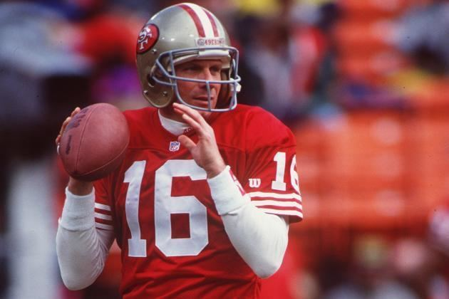 Joe Montana Joe Montana Talks Young QBs Peyton Manning and More in