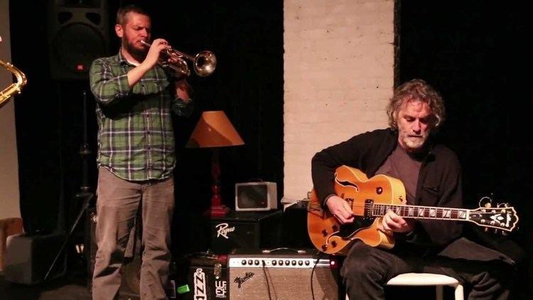 Joe Morris (guitarist) Joe Morris Nate Wooley Ken Vandermark Agusti Fernandez at the
