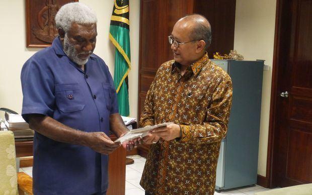 Joe Natuman Vanuatu PM reaffirms West Papua position to Jakarta