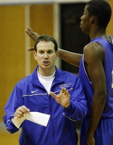 Joe Pasternack University of New Orleans Coach Joe Pasternack worked hard