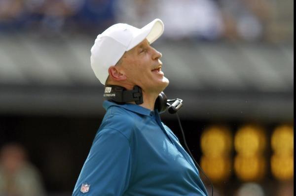 Joe Philbin Indianapolis Colts hire Joe Philbin as offensive line coach UPIcom