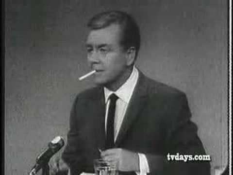 Joe Pyne LOST JOE PYNE TALK SHOW PART 2 YouTube