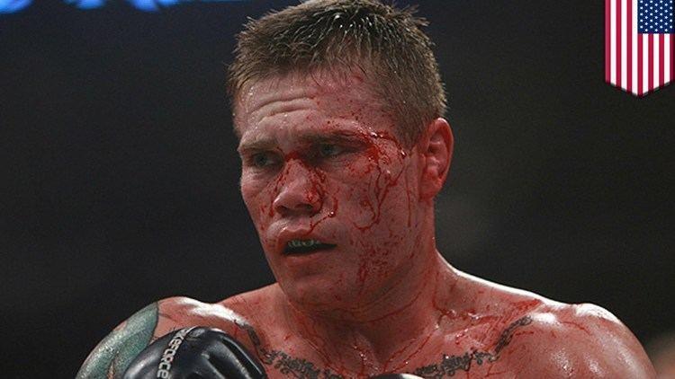 Joe Riggs Gun cleaning fail Joe Riggs blows hole in UFC comeback
