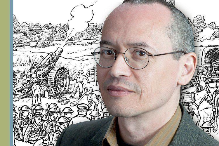 Joe Sacco Cartoonist Joe Sacco Drawing helps you look at very