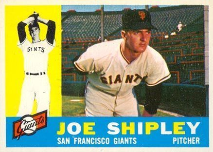 Joe Shipley 1960 Topps Joe Shipley 239 Baseball Card Value Price Guide