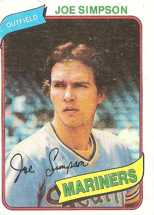 Joe Simpson (baseball) Joe Simpson Cardboard Gods