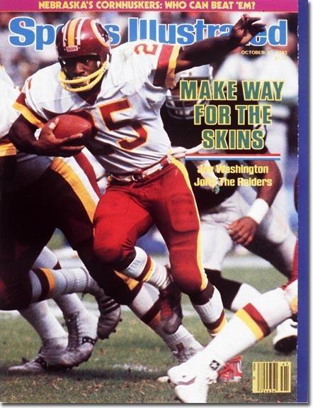 Joe Washington Washington Redskins By the Numbers 25 Joe Washington