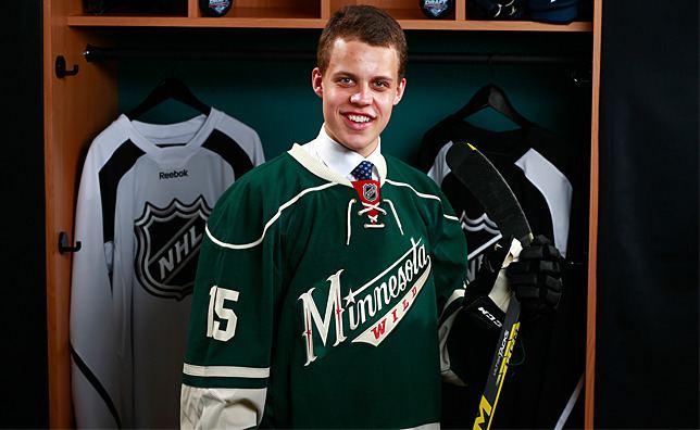 Joel Eriksson Ek Wild Signs Joel Eriksson Ek Minnesota Wild News