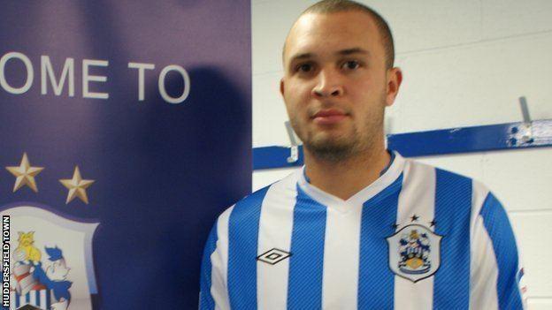 Joel Lynch BBC Sport Huddersfield Town sign defender Joel Lynch