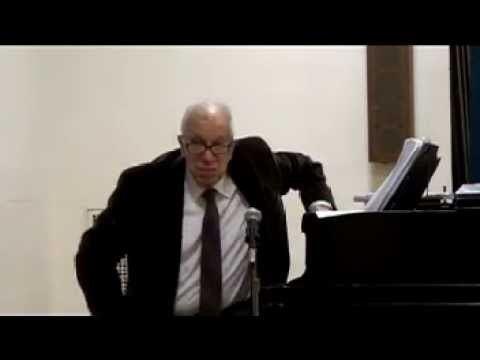 Joel Mandelbaum 150225 Joel Mandelbaum introduces Leonard Lehrman YouTube