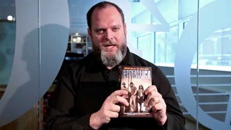 Joel McIver Joel McIver talking about his book Metallica Justice for