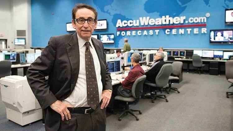 Joel Myers Meteorologist Joel Myers Forecasts It Right With AccuWeather Stock