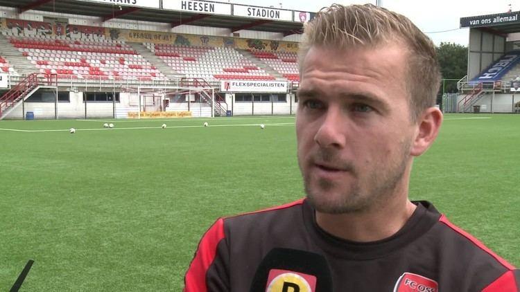Joep van den Ouweland Joep van den Ouweland voorafgaand aan de derby FC OssFC Eindhoven