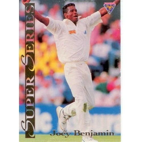 Joey Benjamin (Cricketer) in the past