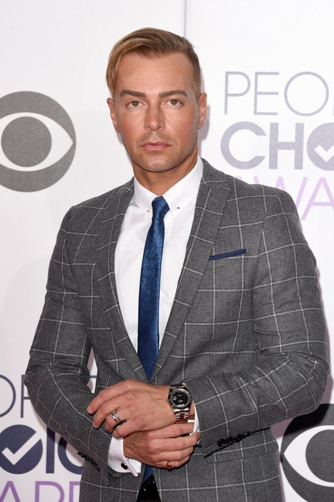 Joey Lawrence Joey Lawrence Has a CombOver at the People39s Choice Awards