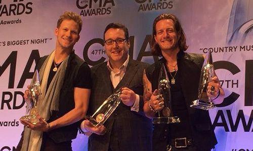 Joey Moi SOCAN member Joey Moi wins CMA Award Top 10 producer